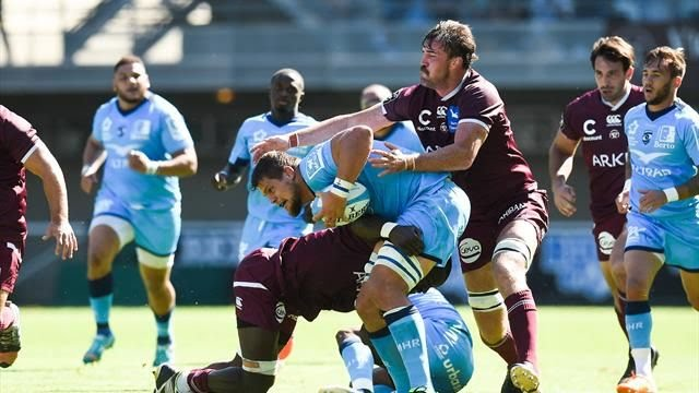 Top 14: Bordeaux accroche un bon nul à Montpellier